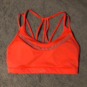 Victoria Secret VSX Hot Orange sport bra